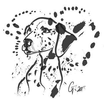 Hund Spot von Go van Kampen