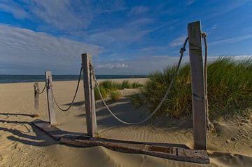 De strandopgang van Wim van der Geest