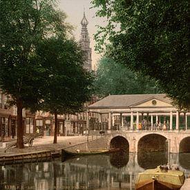 Koornbrug, Leiden van Vintage Afbeeldingen