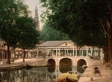 Koornbrug, Leiden von Vintage Afbeeldingen