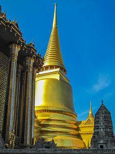 Gouden stoepa bij het Koninklijk Paleis, Bangkok