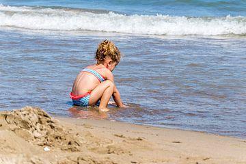 kindergeluk aan het water sur Ellen Denkers-Hartman