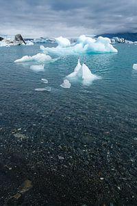 Jökulsárlón, IJsland van