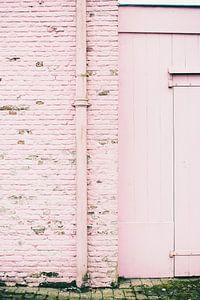 Land van Ooit - roze muur