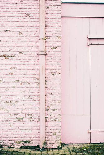 Land van Ooit - roze muur van