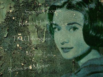 Legenden - Audrey Hephurn von Christine Nöhmeier