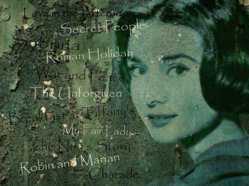 Legenden - Audrey Hephurn van Christine Nöhmeier