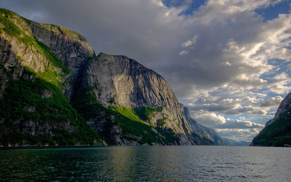 Lysebotn, Lysefjord, Noorwegen