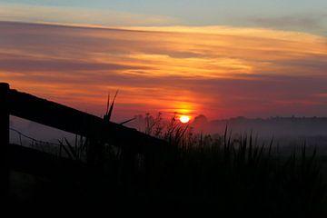 Zonsopgang op het platteland van Chantal