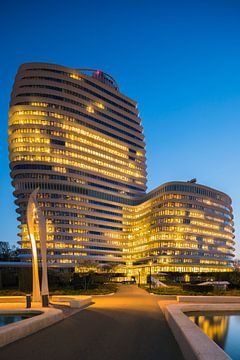 Bâtiment DUO, Groningen, Pays-Bas sur Henk Meijer Photography