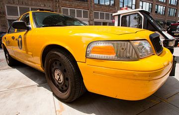 Gele Taxi  (New York City) van Marcel Kerdijk