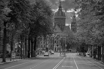 Prins Hendrikkade Amsterdam van Peter Bartelings Photography