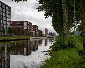 Des appartements le long du canal Zuid-Willemsvaart à Weert