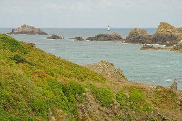 Pointe du Grouin met vuurtoren van