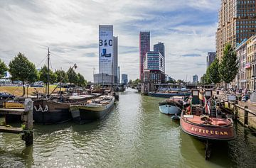 Le Scheepmakershaven à Rotterdam sur MS Fotografie | Marc van der Stelt