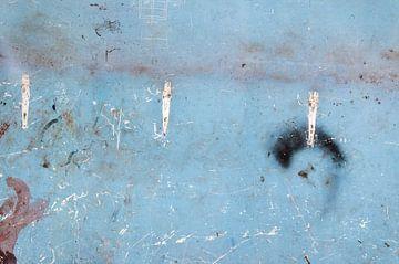 verf op een muur sur Dray van Beeck