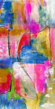 Farben und Fläche von Claudia Gründler