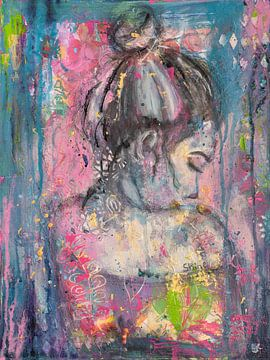 Glanz von Flow Painting