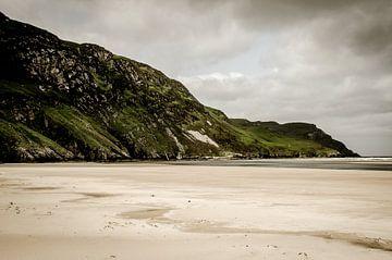 Maghera strand en grotten Ierland van Pureframed Photos