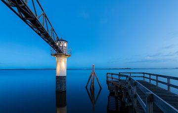 Leuchtturm, Oostmahorn von Edwin Kooren