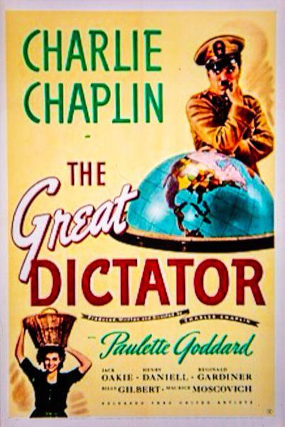 The Great Dictator Charlie Chaplin van Brian Morgan