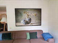 Kundenfoto: Stilleben 70 von jejaka art, auf leinwand