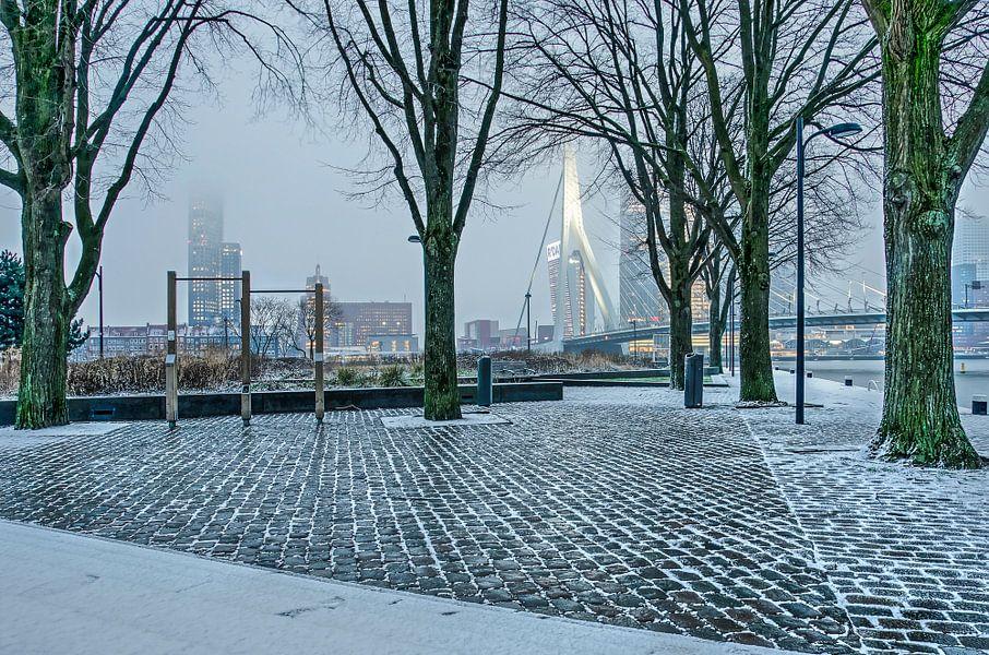 Kaipark im Februar von Frans Blok