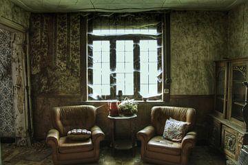 Verlaten kamer in een verlaten huis van Melvin Meijer