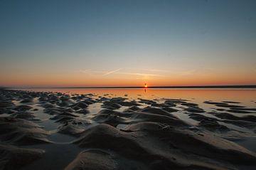 zonsondergang Egmond aan Zee von Dirk Sander