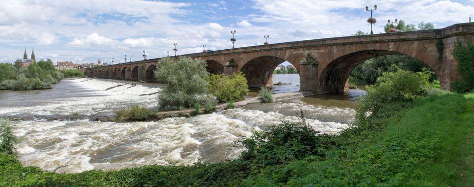 Moulins l'Allier van Bob de Bruin