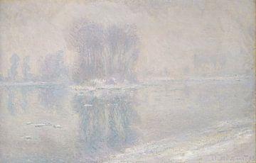 Iceberg, Claude Monet sur