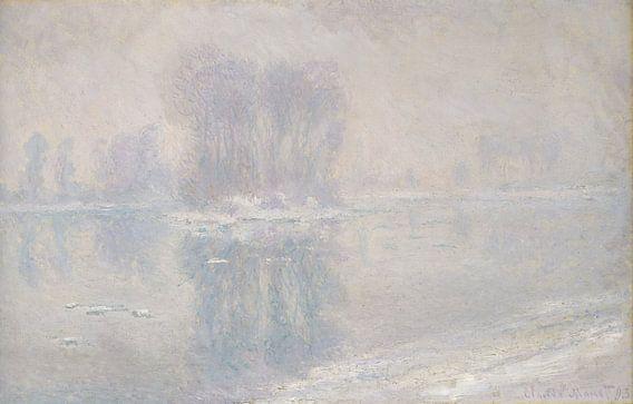 Ijsijsschollen, Claude Monet