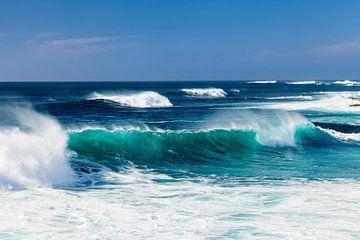 Wellen im Atlantik, Fuerteventura von Markus Lange