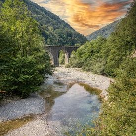 Rivière Baca - Klavže - Slovénie sur Mart Houtman