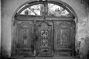 Door, Sibiu. Romania