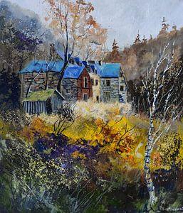 Altes Herrenhaus auf dem Lande