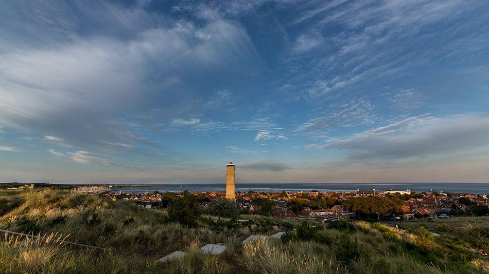 Panoramafoto van Terschelling-West