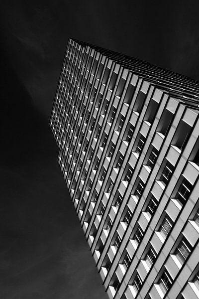 Zwartwit ramen van Ruud Peters