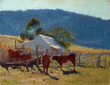 Melktijd (Araluen Valley), Elioth Gruner