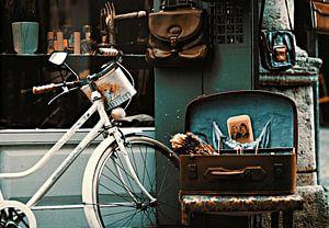 Vintage straatbeeld.