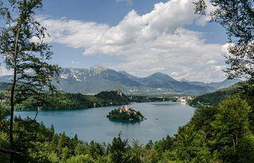 Bleder See, Slowenien von Willem van den Berge