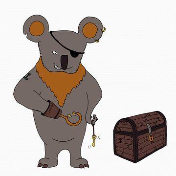 Koala Piraat van Dennis Michels