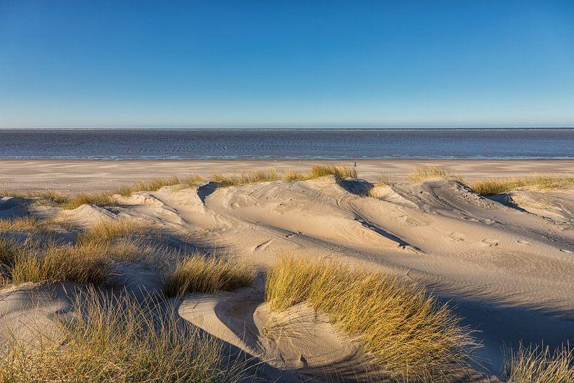 Duinen, Strand en Zee in de winter van Bram van Broekhoven