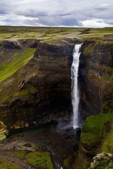 Háifoss te IJsland 1
