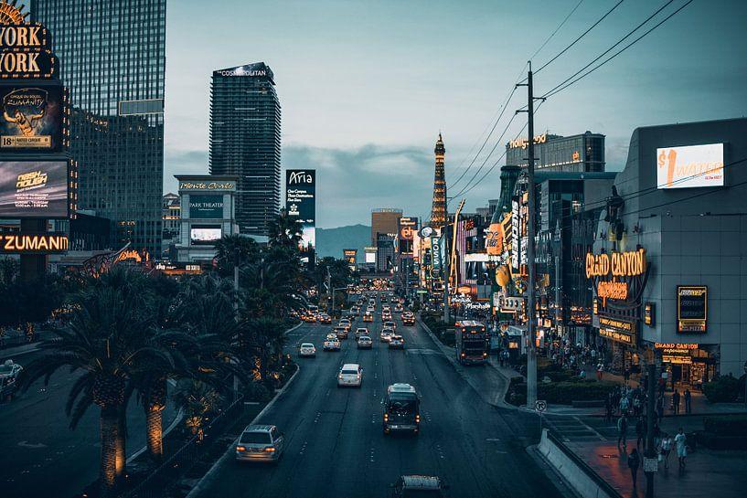 Las Vegas Strip by night - Nevada, U.S.A. van Dylan van den Heuvel