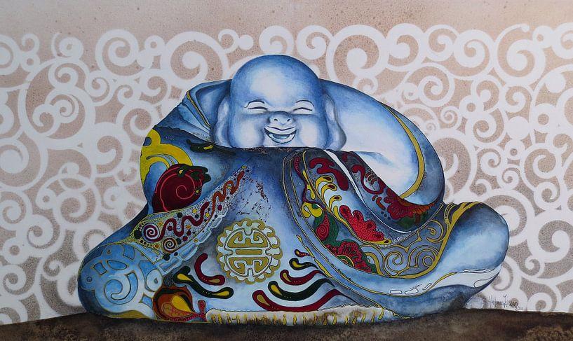 Happy Buddha sur Helma van der Zwan