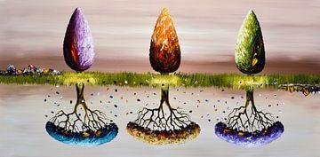 Change of Seasons von Gena Theheartofart