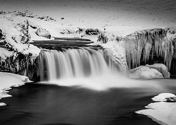 Godafoss Waterval IJsland van Mario Calma