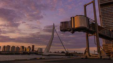 Sunset Cruise Terminal Rotterdam sur Simon van Leeuwen
