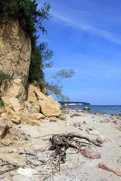 Steile oever van Ostsee Bilder
